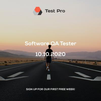Test Pro. Регистрация на беспалтную неделю курса по тестированию ПО. - Web Development в Los Angeles