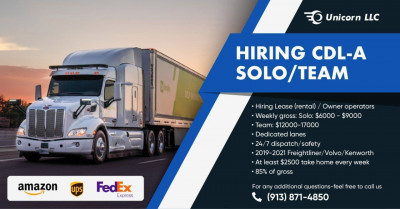 CDL Drivers in USA for Full Time
