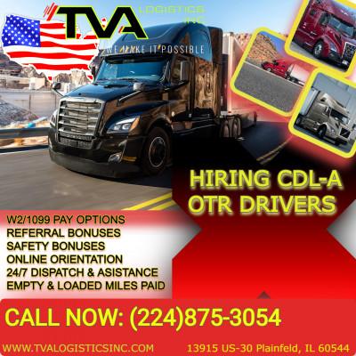 Водители CDL в Чикаго на полную занятость