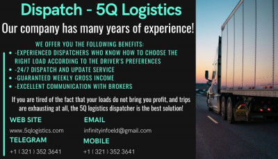 5QLogistics - Trucking Business  -  Dispatch Services в USA
