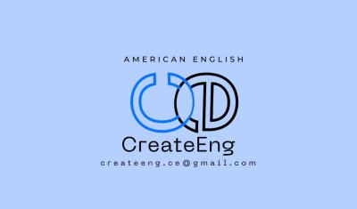 CreateEng - Учителя и репетиторы  -  Онлайн обучение, Уроки английского языка в США